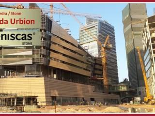 ARENISCAS STONE Complesso d'uffici moderni Pietra Beige