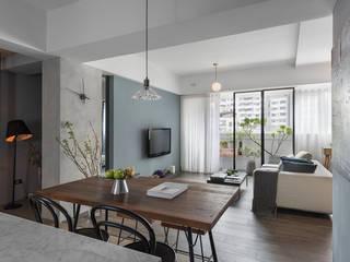 餐廳與客廳的關係 by 沐光植境設計事業 Scandinavian