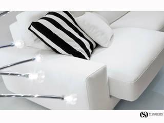 Sofá Bontempi:   por MY STUDIO HOME - Design de Interiores