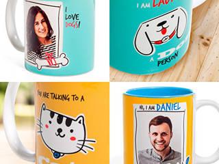 Tazas personalizadas de Tazas Con Foto Moderno