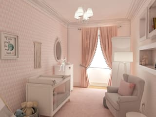 Baby room by The Spacealist - Arquitectura e Interiores,