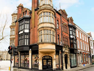 Listed Building Conversion in Salisbury Modern commercial spaces by D&N Construction Limited Modern