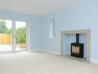 2 Detached Houses in Wiltshire Country style living room by D&N Construction Limited Country