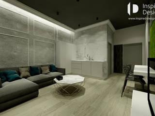 Apartament Wrocław: styl , w kategorii  zaprojektowany przez Inspired Design