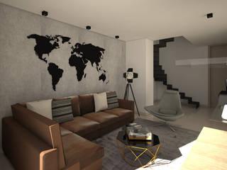 Multimedia-Raum von Savignano Design, Industrial