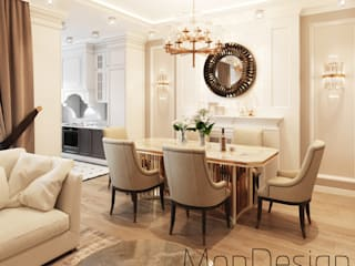 Classic style dining room by MonDesign Classic