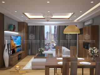 Nhà Chú Tuệ - Trần Phú:   by Công ty TNHH Tư vấn thiết kế My House Decor
