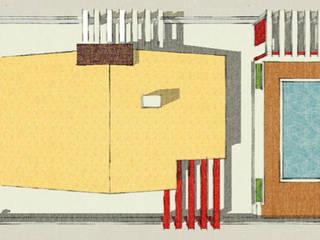 projeto - planta cobertura:   por Teresa Ledo, arquiteta