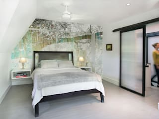 Minimalist bedroom by Metcalfe Architecture & Design Minimalist