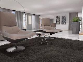 Modern living room by Maria José Faria Interiores Ldª Modern