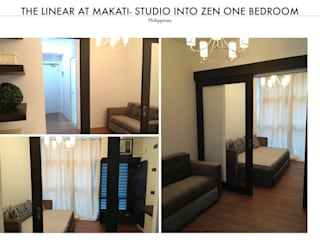 The Linear Tower in Makati – Zen Theme:   by SNS Lush Designs and Home Decor Consultancy