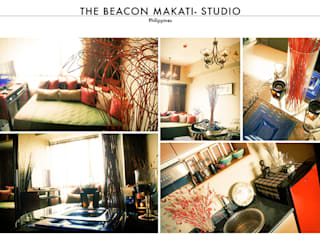 The Beacon Makati – Cosy Studio:   by SNS Lush Designs and Home Decor Consultancy
