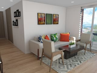 Living room by Naromi  Design