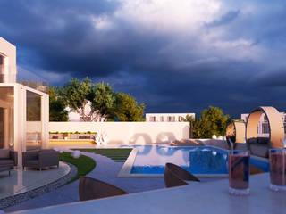 Private Villa:  Pool by H9 Design