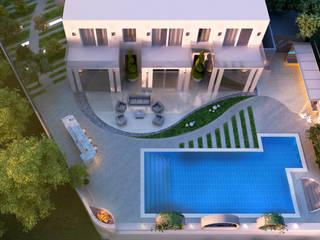 Private Villa:  Garden by H9 Design