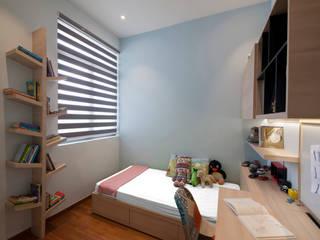 THE SKYWOODS Scandinavian style bedroom by Eightytwo Pte Ltd Scandinavian