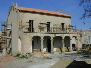 Recupero di una casa in terra cruda (ladiri) a Serramanna di Studio di Architettura Ortu Pillola e Associati Rurale