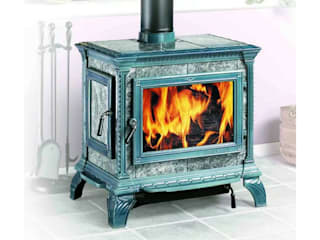 Маргарита Клепцова камины и печи Living roomFireplaces & accessories Metal