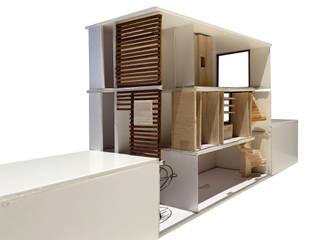 Proyecto de rehabilitación de un local para convertirlo en una vivienda plurifamiliar en Barcelona Y01 house de projectelab Moderno
