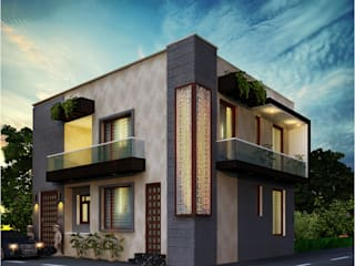 Kashyap Niwas by Habitat Design Collective (Hdeco) Modern
