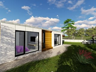 Modern houses by A-kotar Modern