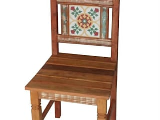 Barrocarte Dining roomChairs & benches Solid Wood Wood effect