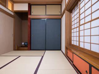 袋棚: DIGDESIGNが手掛けた和室です。