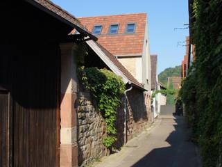 Umbau und Sanierung eines Winzerhofs in Klingenmünster/Pfalz Moderne Häuser von Erwin Becker Architekt BDA Modern