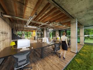 Paylaşımlı Ofis / İzmit Kolon Mimarlık - İçmimarlık Endüstriyel