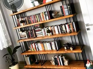 Mozilya Mobilya – Hasır Kitaplık:  tarz