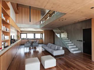 SENS Ravignani / Ravignani 2015-21 Livings modernos: Ideas, imágenes y decoración de ATV Arquitectos Moderno Madera Acabado en madera