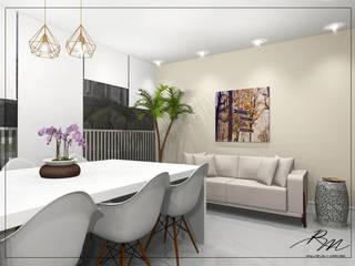 Modern Terrace by Renata Monteiro Arquitetura e Interiores Modern