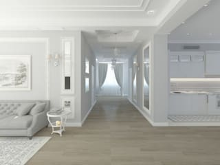 Classic style corridor, hallway and stairs by Лилия Панкова Classic
