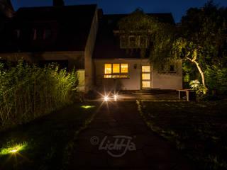 Ansicht vom Garten :   von LichtJa - Licht und Mehr GmbH