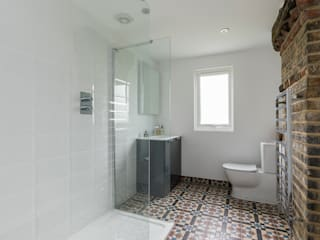 High Barnet Terrace House Transformation Model Projects Ltd Modern bathroom
