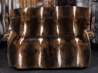 Lars Paustian - International Fur ห้องนั่งเล่นของตกแต่งและอุปกรณ์จิปาถะ เฟอร์ Brown