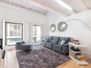 modern Living room by João Boullosa