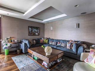 Maadi Apartment:  غرفة المعيشة تنفيذ info10624