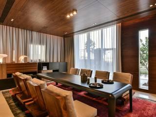 Premium Villa :  Dining room by Racheta Interiors Pvt Limited