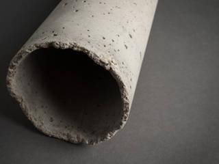 """Beton Pendelleuchte """"Lampshade #2"""": industriell  von Smart Concrete,Industrial"""