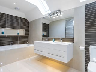 Shaun and Jenny, Bookham Surrey House Transformation by Model Projects Ltd Сучасний