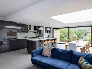 House Extension, Southgate, London by Model Projects Ltd Сучасний