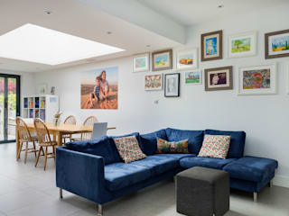 House Extension, Southgate, London Moderne Wohnzimmer von Model Projects Ltd Modern