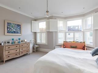 Jess & Hugo's Shepherd's Bush Renovation:  Bedroom by Model Projects Ltd