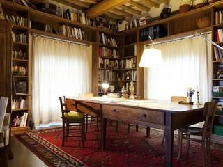 ラスティックデザインの 書斎 の Arcostudios ラスティック