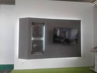 غرفة الميديا تنفيذ MS - CONSTRUCCIONES MARIO SOTO & Cìa S.A.S.