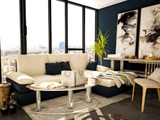 residence:  Living room by The Design Code