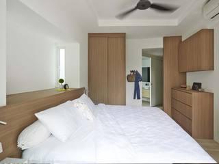 COTE D'AZUR Scandinavian style bedroom by Eightytwo Pte Ltd Scandinavian