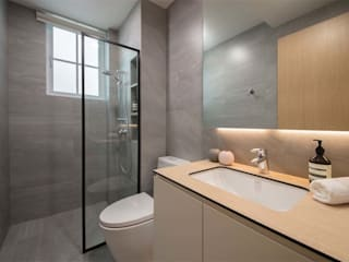 EASTWOOD GREEN 2 Tropical style bathroom by Eightytwo Pte Ltd Tropical