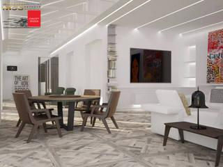 Appartamento privato 2: Soggiorno in stile in stile Moderno di MELLINACORTISTUDIO